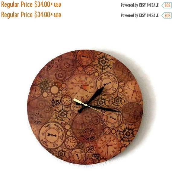 Sale steampunk clock unique wall clock silent wall Unique clocks for sale