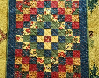 QUILT FALL AUTUMN Kansas Troubles fabrics table runner decor' for sale
