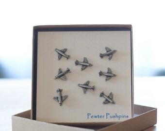 Airplane Pushpins