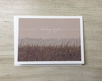 Greeting Card | Thinking of You | Sympathy | Blank Inside