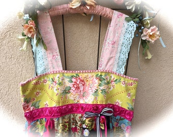 Juicy Roses and Citron Summer Dress Lace Details Sweet Heart Style