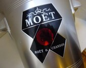 Vintage French Moet et Chandon Champagne Ice Bucket, Cooler.