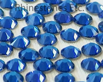 Bermuda Blue 16ss Swarovski Elements Rhinestones Flatback 36 pieces