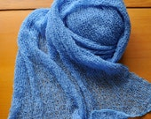 Cornflower Blue Newborn Stretch Wraps For Photographers