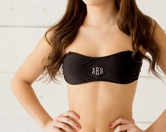 Black Swim Bandeau