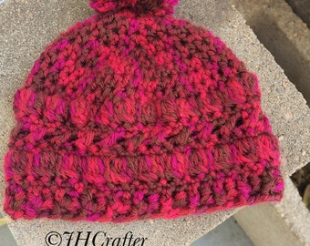 Textured Hat 0-3 month size