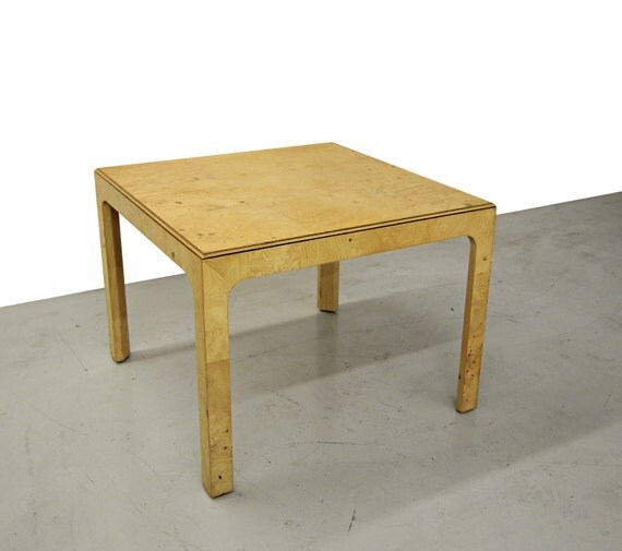Burl Coffee Table Mid Century: Mid Century Henredon Scene 2 Burl Wood By Onemanstrashlasvegas