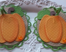 Fall scrapbook embellishments halloween scrapbook embellishments pumpkin scrapbook embellishments autumn scrapbook embellishments
