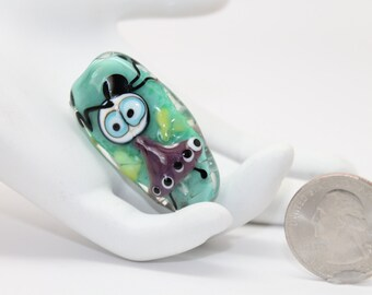 Little  Zoie.  Lampwork Fairy Bead . Focal bead. by Lori Davidson