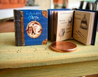 Secret Manual of magic Miniature book 1/12