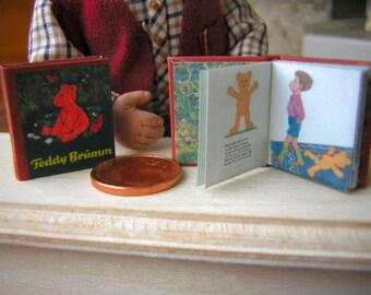 Teddy Brumm Miniature book 1/12