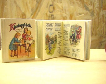 Kinderglück Miniature book 1/12