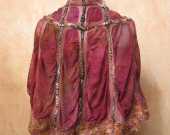 Fall Colors Circular Vest