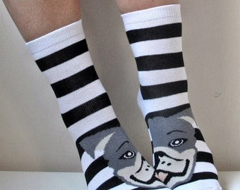 Boot Socks Children Socks Leg Warmer Christmas Socks Pug Socks Casual Cotton Socks Ankle Socks
