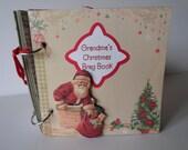 Grandma's Christmas Treasures Scrapbook