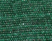 Reserve Armina Green Emerald Beads 18 Strand 4.5-5mm Natural AAA Faceted Precious Gemstones Take 10% Off Bridal Jewelry Craft Supplies