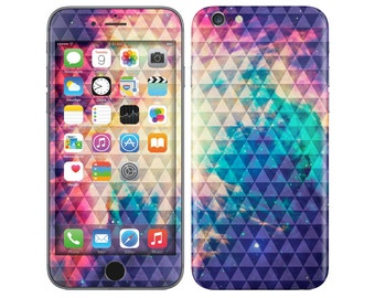 TRIANGLES IN SPACE iPhone Decal iPhone Skin iPhone Cover iPhone 6 Skin, iPhone 6 Plus Decal iPhone 6S Skin iPhone 6S Decal Cover iPhone 5 5S