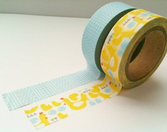 Set of 2 Washi Tape, Farm
