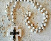 Cross Pendant Necklace Handmade