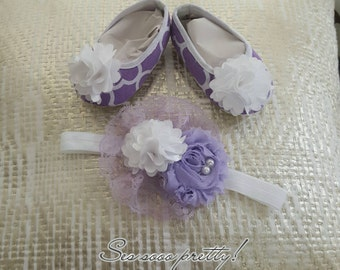 Headband and shoes set