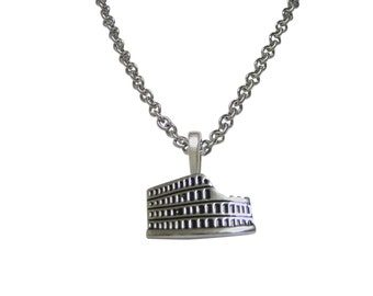 Roman Colosseum Pendant Necklace