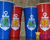 32oz Double Wall Insulated Party Cup Solo Cup Personalized Great for Summer BBQ's!