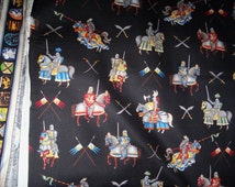 Enchanted Kingdom,2.7/8 yard,Knight on Horses,RJR  PRIVATE SALE