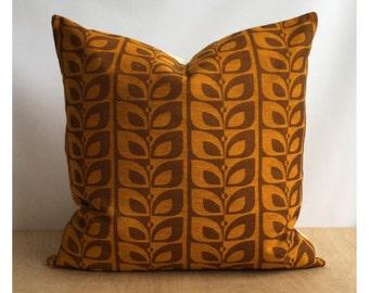 "Cushion Cover Orginal Vintage 70s Fabric 18"" x 18"" or 20"" x 20"""