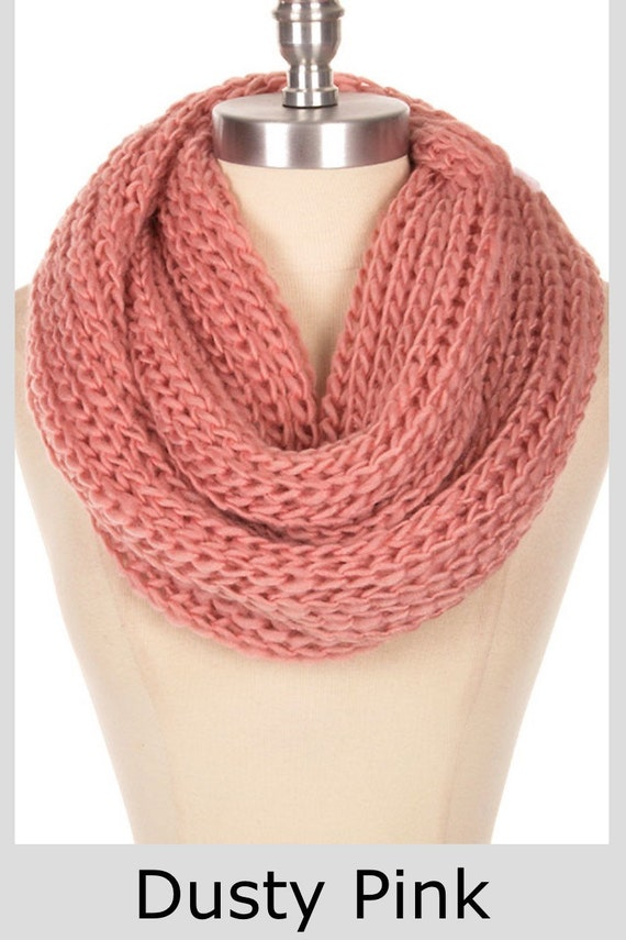 items similar to knit knitted scarf items thick knit