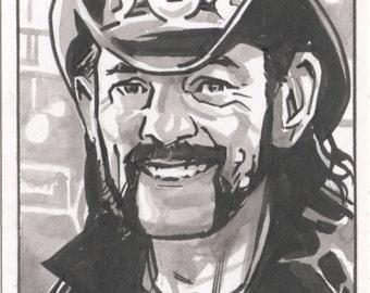 Lemmy Sketch Card