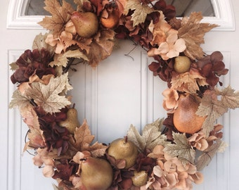 Autumn Pear Wreath