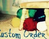 Custom Order for Lindsay- Infinity scarf