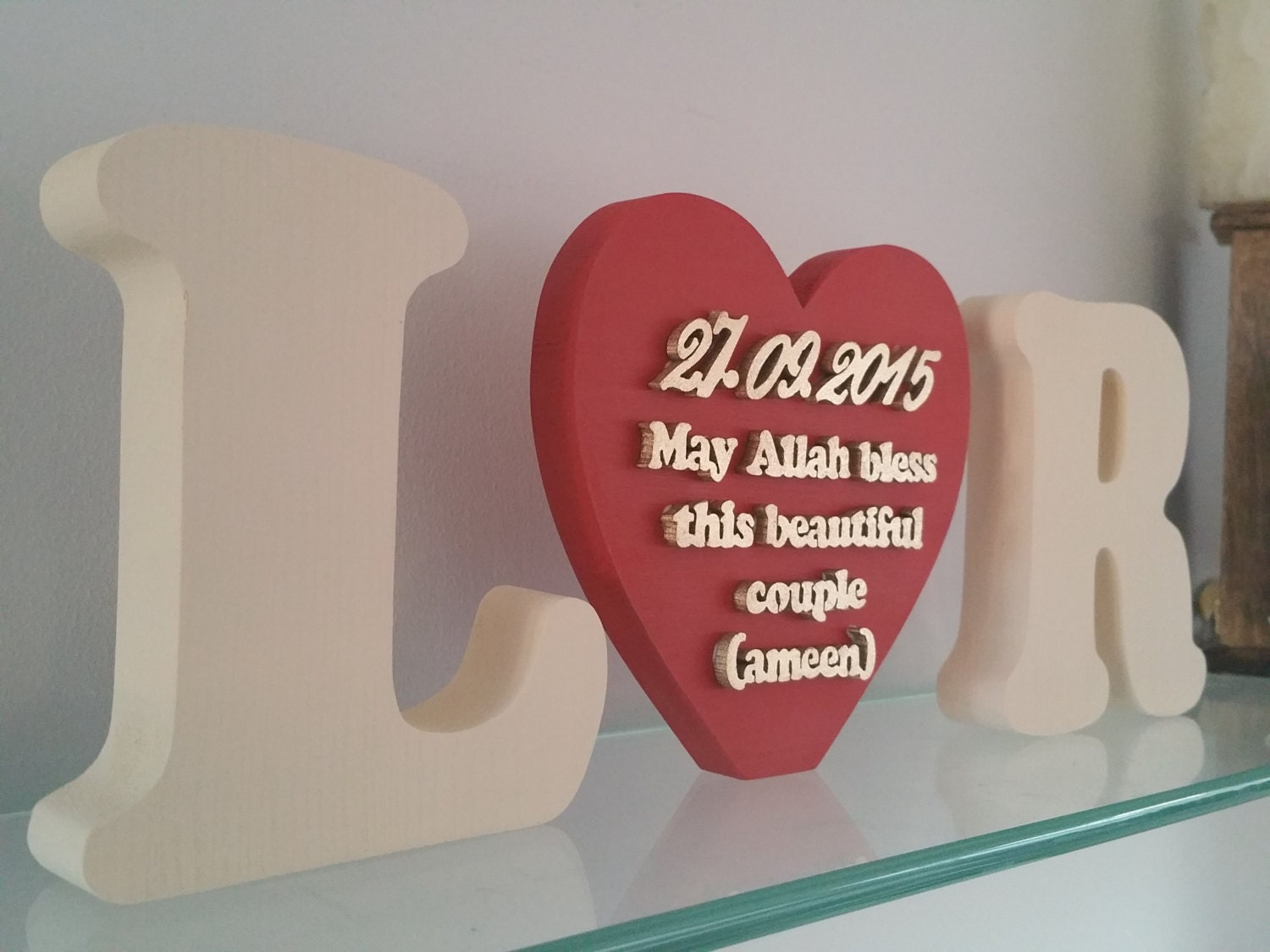 Wedding Gift For Muslim Couple Image Collections Personalised May Allah Bless This Beautiful Zoom