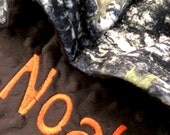 Pet Blanket Camoflauge Minky Personilization included, Realtree Camo Pet Blanket, True Timber Camo Dog Blanket