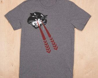 Laser Cat Tee-shirt