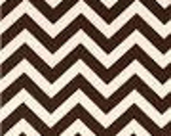 Premier Prints Brown and Natural Chevron Fabric by the yard - Chevron Fabric Yellow Chevron fabric Sewing Home