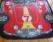 "Vintage 1966 USA Racing Team Race Car ""Tornado Spreadmobile"" Bedspread"
