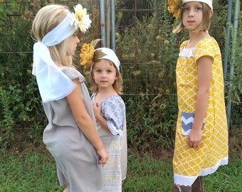 Boho Dresses Family Photoshoot and Flower Girls Ellie And Lucy