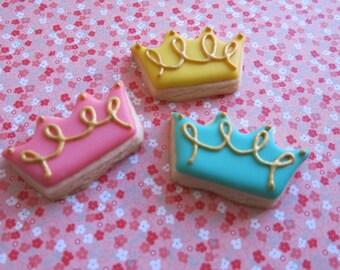 Mini Crown Sugar Cookies - 1 Dozen