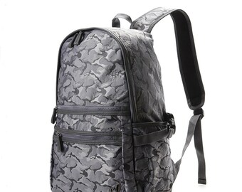 Twill Camo Backpack (3 colors)