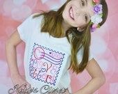 Love Letters Embroidered T-shirt for girls - Collection - Fans - Birthday - Party - Gift - Children