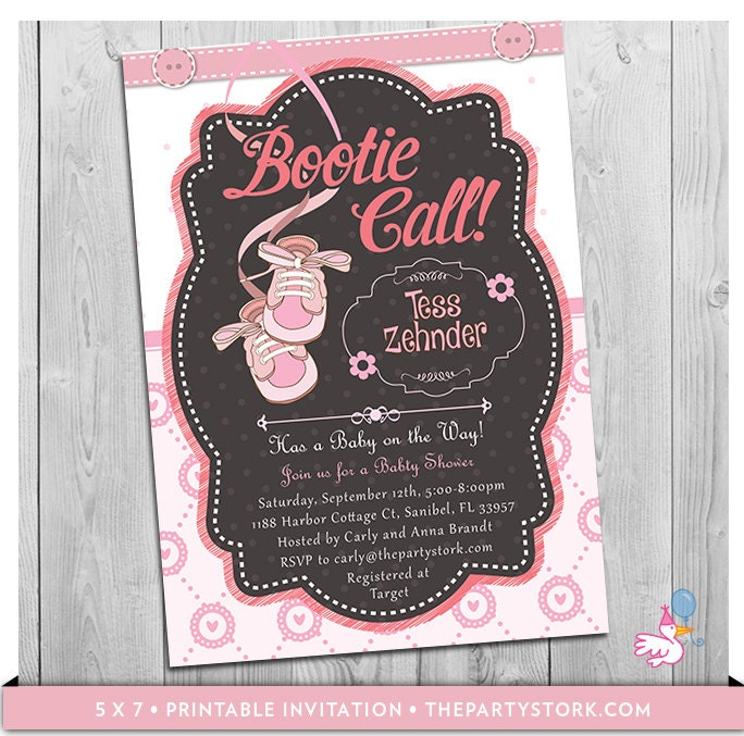 girl baby shower invitations unique baby shower invitations