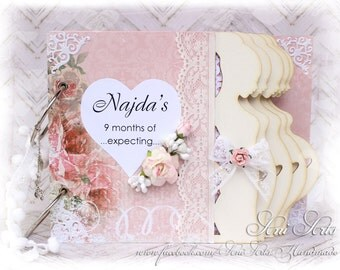 Pregnancy Journal Personalised Pregnancy Gift Mom to Be Gift Expecting Mom Memory Book Pregnancy Diary Scrapbook Album