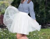Mollie - Custom Handmade Ladies Tulle Skirt