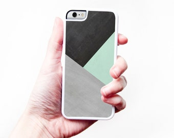 Geometric iPhone Case Geometric Mint Green iPhone 6 Case Chalkboard iPhone 5 Case Mint iPhone 5 Case Geometric iPhone 5C Case Modern