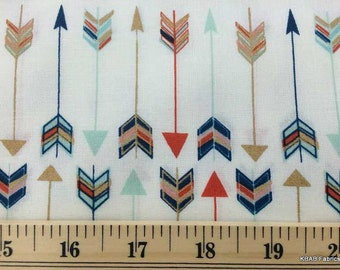2 yards Arrow fabric 100% Cotton Quilting Sewing