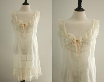 1910s lingerie   vintage edwardian combination underwear