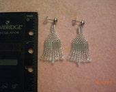 "1 1/2"" beaded earrings"