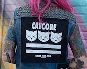 Catcore Back Patch