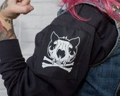 Small Cat Skull Patch